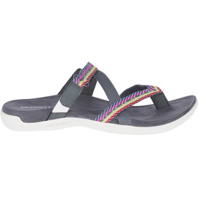 Merrell District Mendi Thong Sandali Donna grigio/colorato